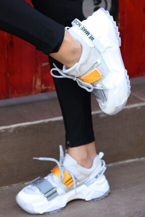 Tinka Bell Shoes Kadın Beyaz Spor Ayakkabı 65140 4