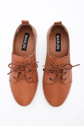 Marjin Kadın Hakiki Deri Comfort Ayakkabı Resataba 4