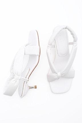 Marjin Kadın Parmak Arası Topuklu Sandalet Eltazbeyaz 4
