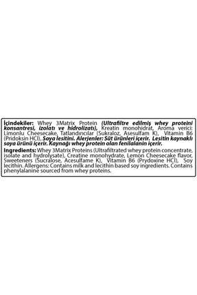 Hardline Whey 3matrix 210 Gr Protein Tozu Limon Cheesecake 3