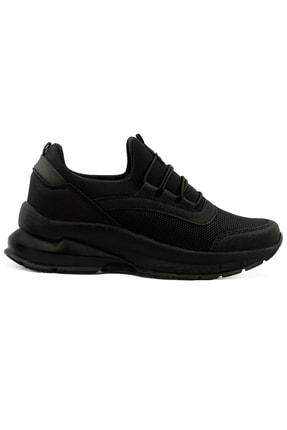 LETAO Kadın Siyah Spor Yürüyüş Ayakkabı 3