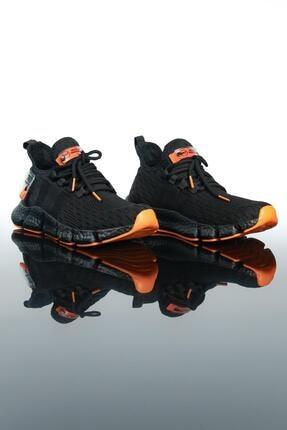 LETOON Erkek Siyah Spor Ayakkabı Te7 0