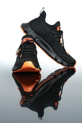 LETOON Erkek Siyah Spor Ayakkabı Te7 2