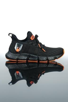 LETOON Erkek Siyah Spor Ayakkabı Te7 3