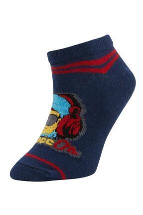 Defacto Erkek Çocuk Patik Çorap 3