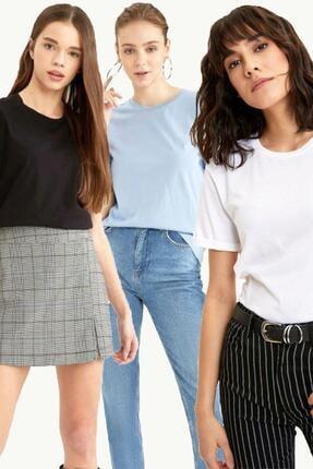 Roop Fabric Kadın T-Shirt 3 Lü 0