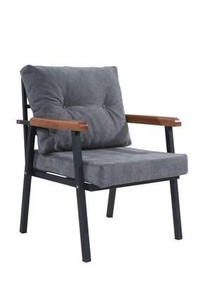 Mobilyamspot Koyu Gri Bahçe Sandalyesi Ve Balkon Koltuk Takımı - Patentli Ürün 2 2 1 1 Bahçe Koltuk Balkon Seti 1 2
