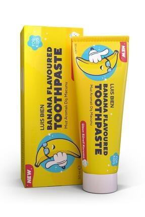 Luis Bien Natural Muz Aromalı Çocuk Diş Macunu 50 ml 0