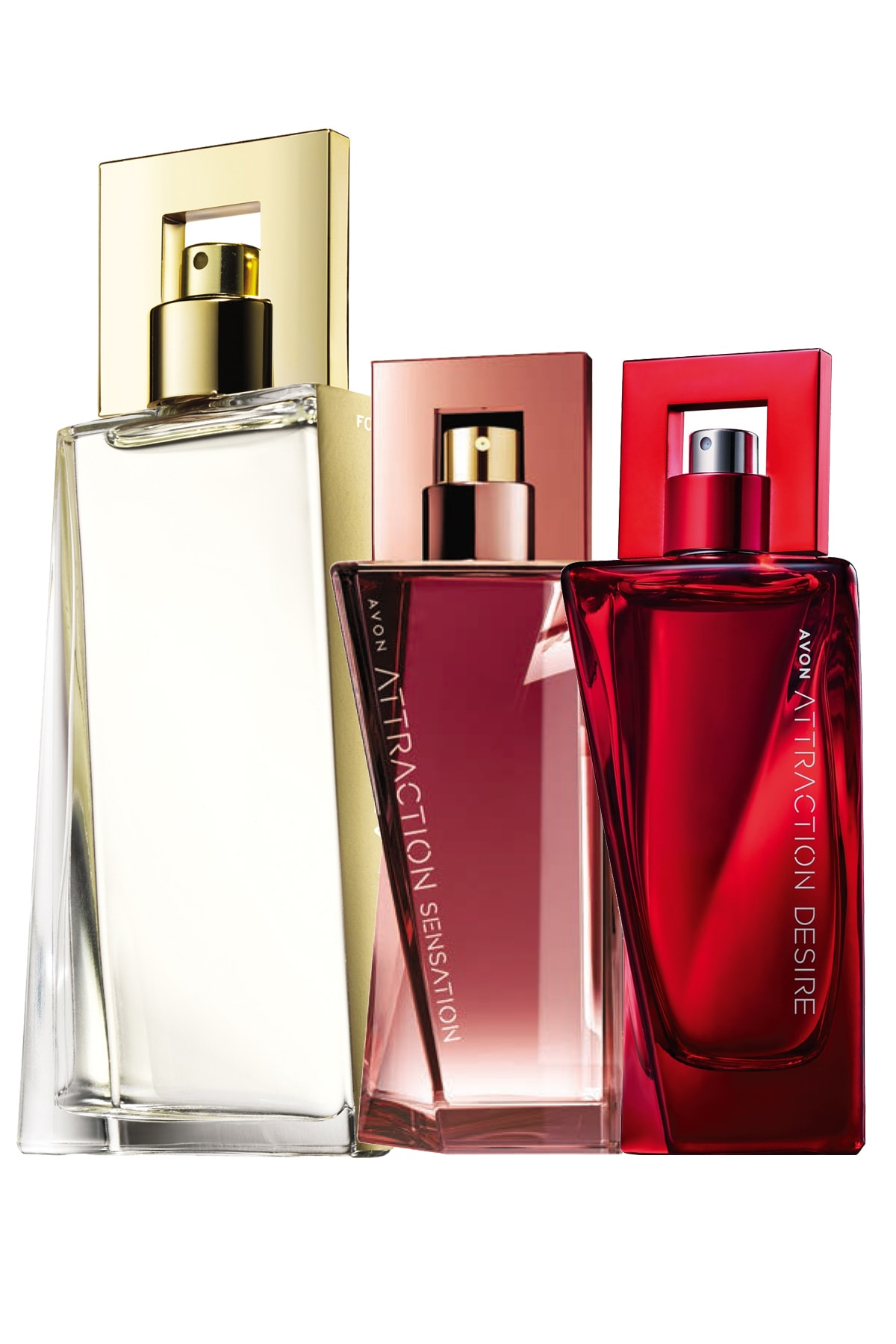 Attraction, Attraction Sensation Ve Desire Kadın Parfüm