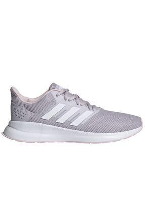 adidas RUNFALCON Mor Kadın Koşu Ayakkabısı 100479421 0