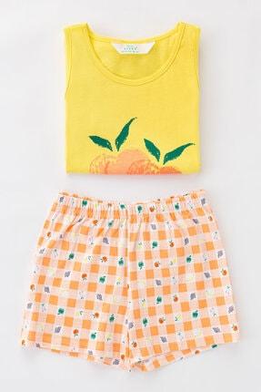 Penti Çok Renkli Kız Çocuk Little Fruits Ss 4Lu Pijama Takımı 1