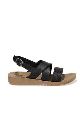 Polaris 161938.z1fx Siyah Kadın Comfort Sandalet 1