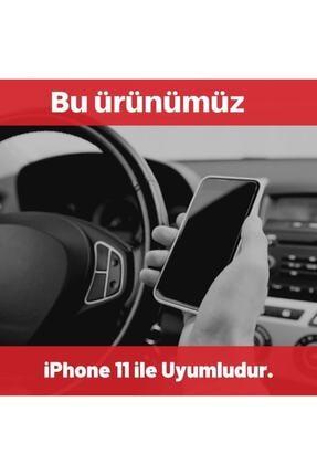 SUPPO Iphone 11 Uyumlu Kamera Korumalı Logolu Lansman Kılıf+kablo Koruyucu 2