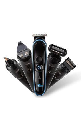 İŞTEBUKACMAZ Özel Erkek Bakım Tıraş Makinesi 8 Ürün Bir Arada Saç Sakal Burun Kulak Ense 3