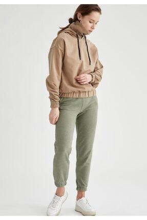 Defacto Bağcıklı Relax Fit Jogger Pantolon 0