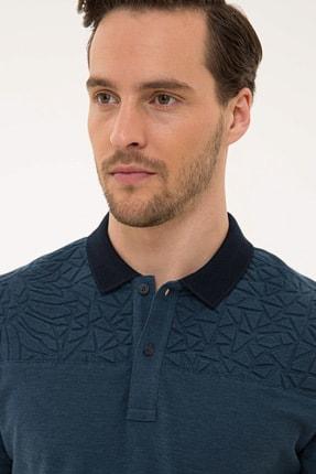 Pierre Cardin Lacıvert Erkek T-Shirt G021GL011.000.1074828 1