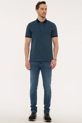 Pierre Cardin Lacıvert Erkek T-Shirt G021GL011.000.1074828 3