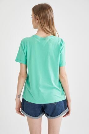 Defacto Basic Kısa Kollu Tişört 3