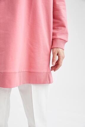 Defacto Modest Oversize Fit Sweat Tunik 4