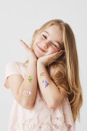 BP Tattoo Renkli Unicorn Karışık Çocuk Dövmesi 0