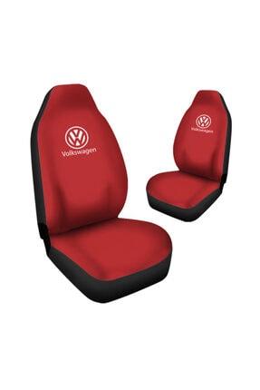 Antwax Volkswagen Golf Araca Özel Oto Koltuk Kılıfı Pro - Kırmızı ( Yeni Tasarım - Yeni Fit Kalıp ) 1