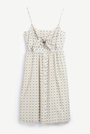 Turuncu Bağlama Detaylı Elbise 1YKEL7031A
