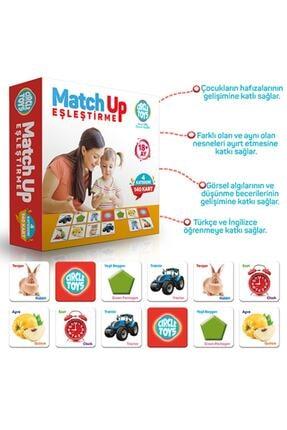 Circle Toys Match Up Kart Eşleştirme Eğitici Oyun 1