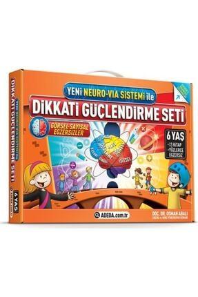 Adeda Yayınları Dikkati Güçlendirme Seti Anasınıfı 6 Yaş - Osman Abalı 0