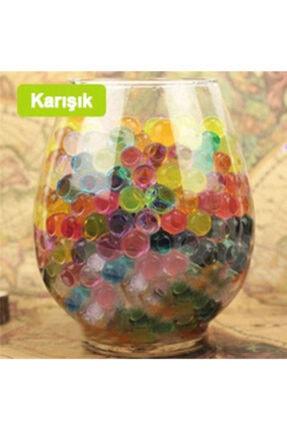 Aksh 1200 Adet 9-11 Mm Su Maymunu Kristal Boncuk Renkli Toplar Topraksız Yetiştirme 0