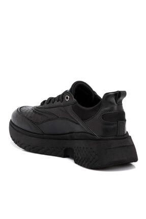Tergan Kadın Siyah Deri Ayakkabı 64724n97 1