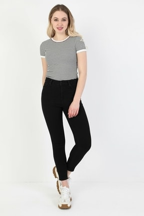 Colin's Kadın Siyah Süper Slim Fit Kadin Pantalon 0