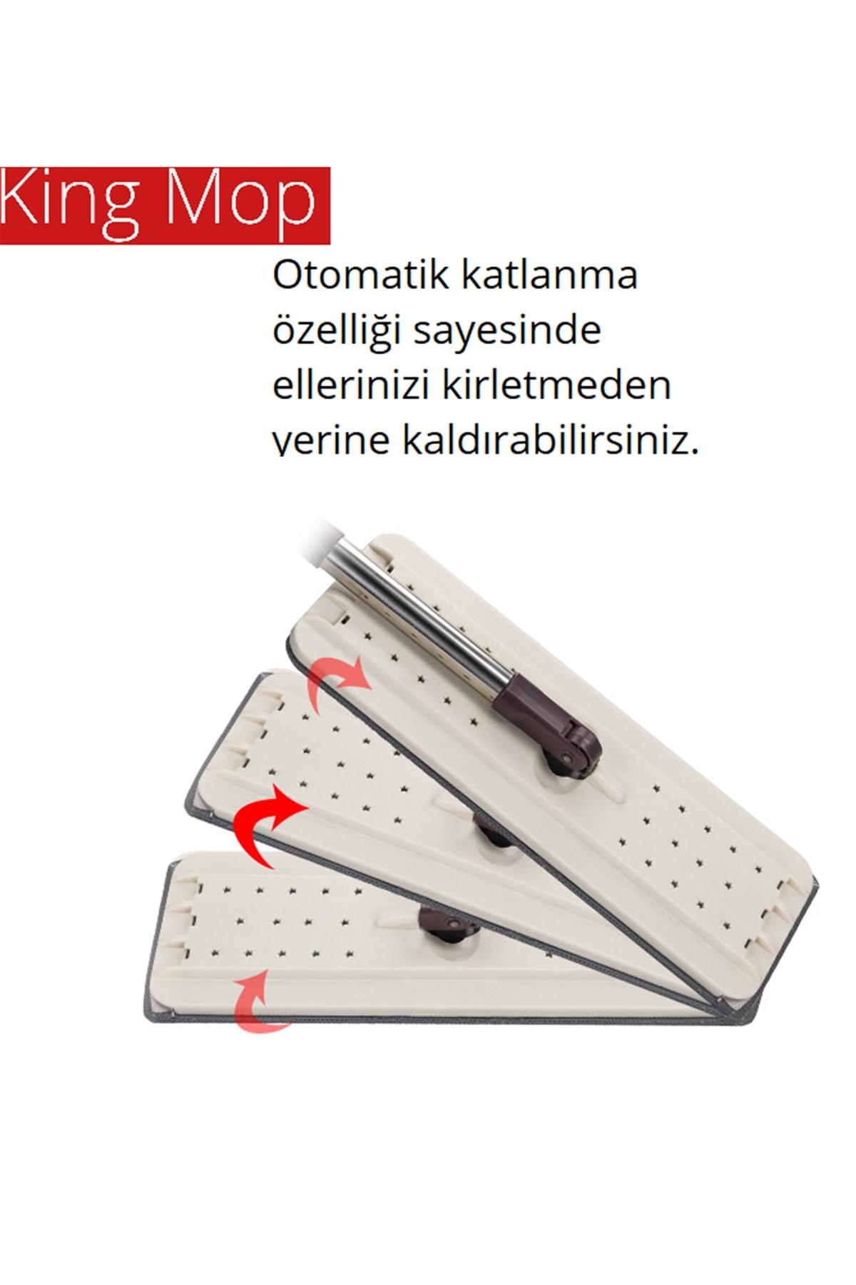 King Mop Tablet Mop 4 4 Litre Paspas Mop Temizlik Seti