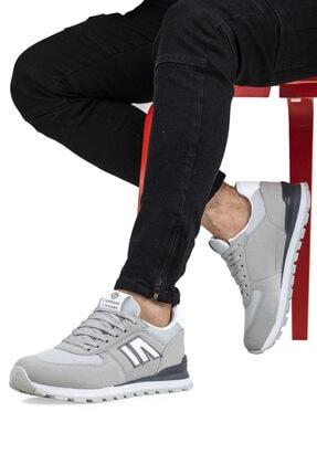 Ayakkabix Erkek Gri Spor Ayakkabı 1