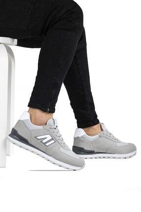 Ayakkabix Erkek Gri Spor Ayakkabı 2