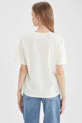 Defacto Baskılı Tişört 3