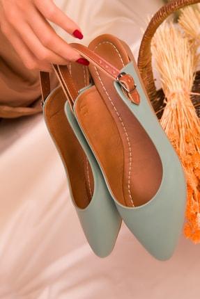 Soho Exclusive Yeşil Kadın Sandalet 16216 2
