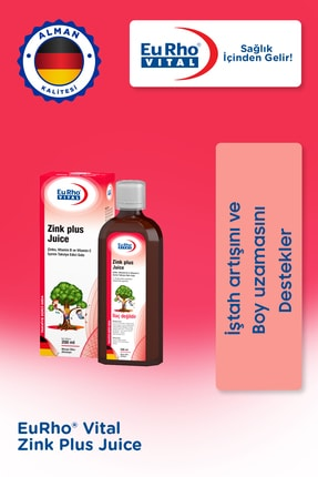 Eurho Vital Eurho® Vital Zink Plus Juice 200 Ml 1