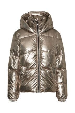 Vero Moda Kadın Gümüş Parlak Şişme Mont 10237694 Vmupsalasılver 1