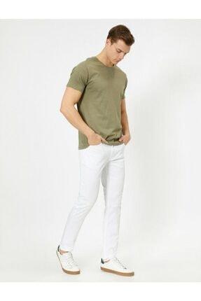 Koton Erkek Cep Detaylı Slim Fit Pantolon 0