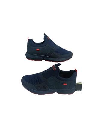 Du179-010 Unisex Lacivert Ultra Hafif Ortapedik Taban Spor Ayakkabı DU179-010