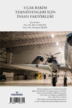 Rating Academy Yayınları Uçak Bakım Teknisyenleri Için Insan Faktörleri 1