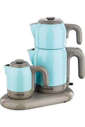 KORKMAZ A353-06 Mia Çay Kahve Makinası (Mavi) 0