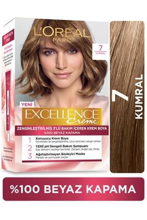 L'Oreal Paris Excellence Creme Saç Boyası 7 Kumral 0