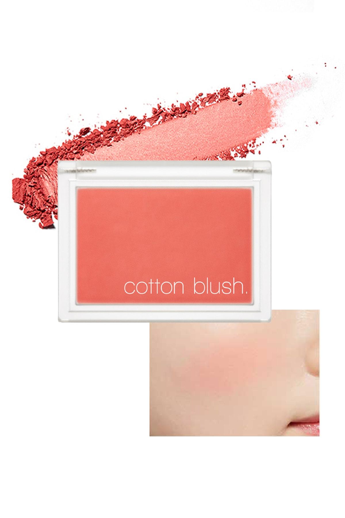 Missha Yumuşak Dokulu Kolay Sürülebilen Allık Cotton Blusher (Sunny Afternoon) 0