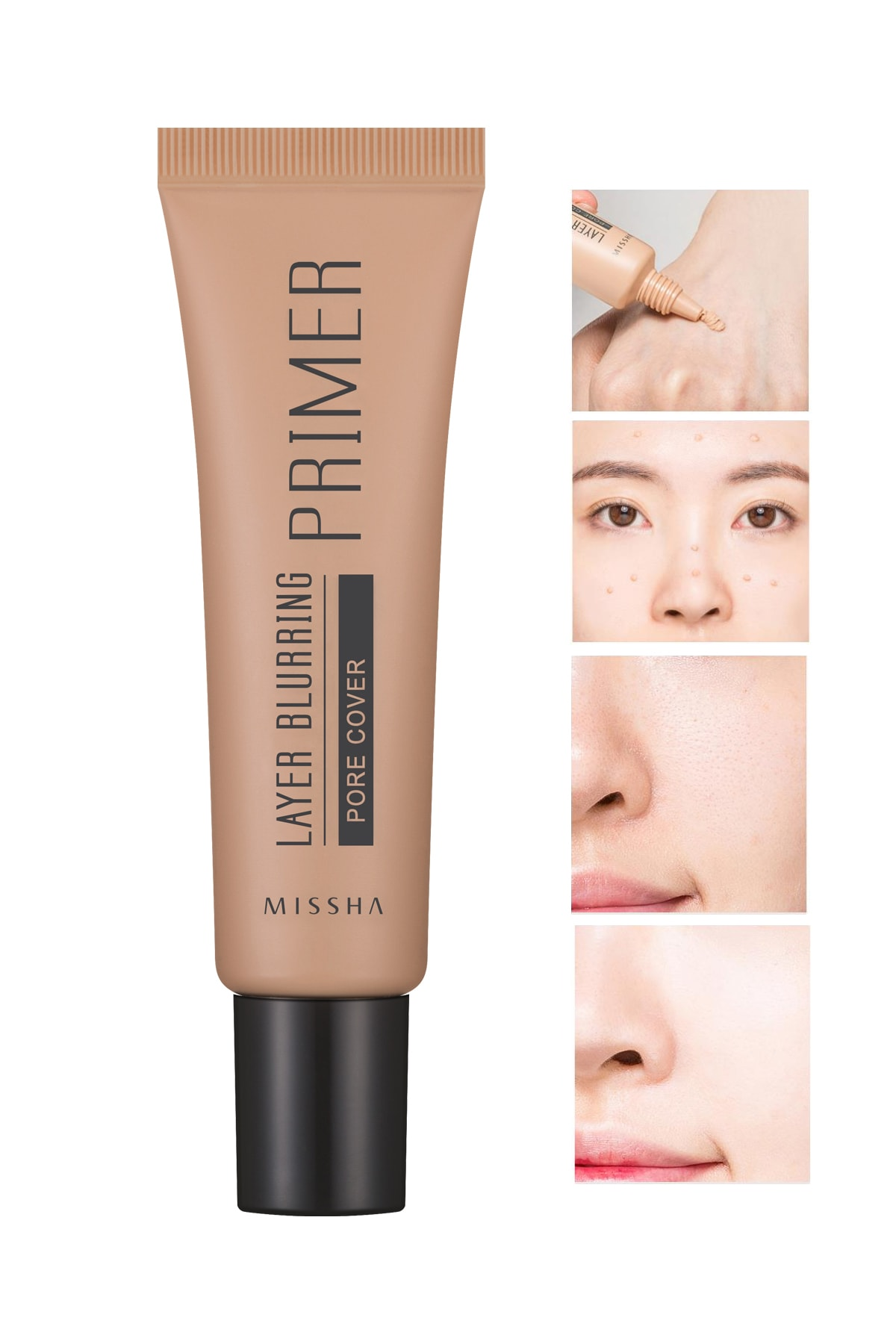 Missha Gözenek Kapatıcı Pürüzsüzleştirici Makyaj Bazı 20ml Layer Blurring Primer (Pore Cover) 0