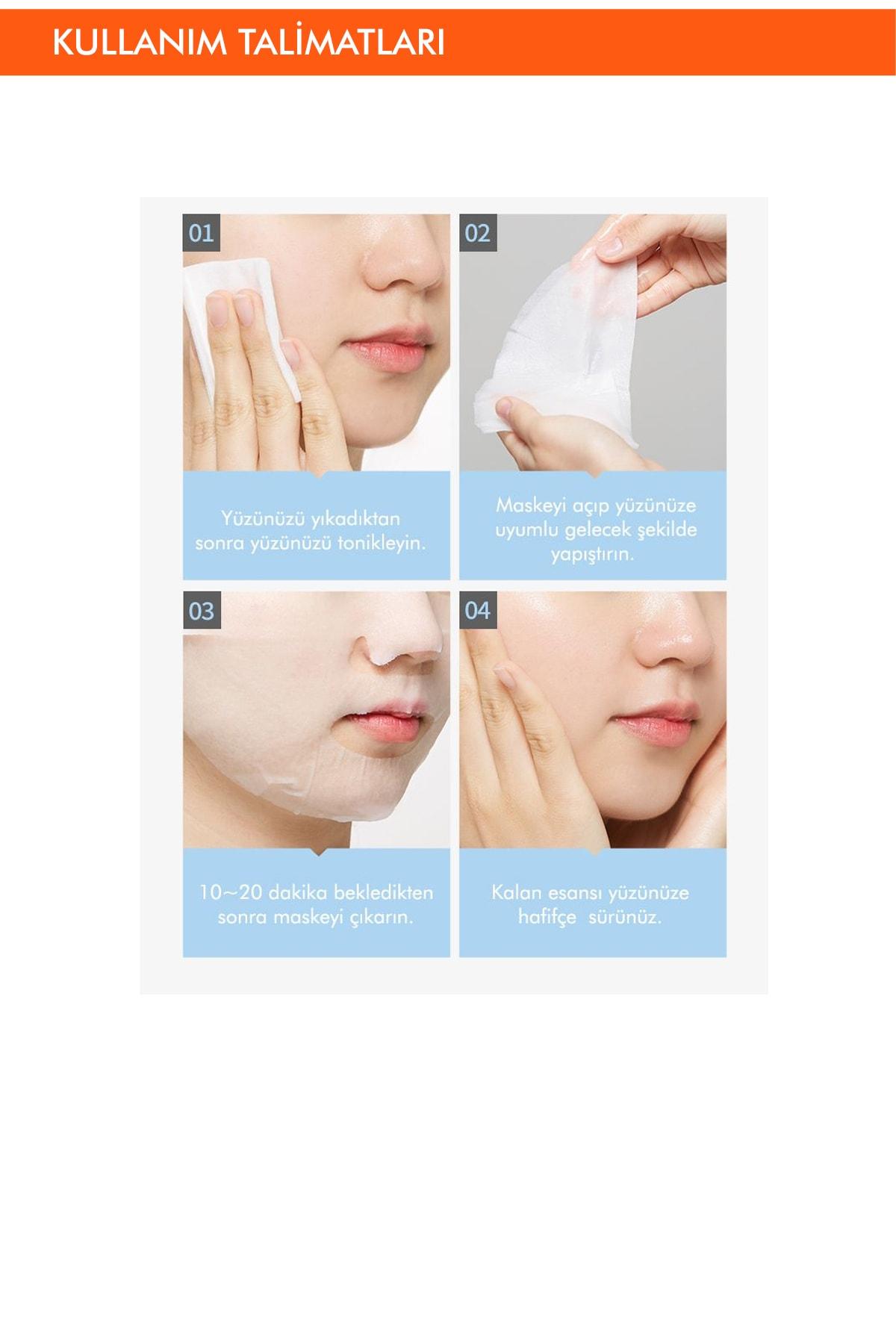 Missha Hassas Ciltler İçin Nemlendirici Çinko Özel Bakım Maskesi Cicative Zinc Sheet Mask 3