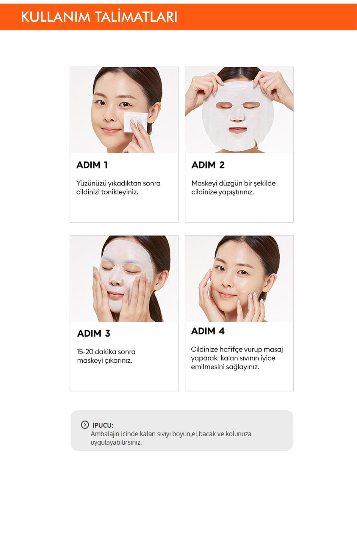 Missha Seramid Cilt Onarıcı Yaprak Maske (1ad) Mascure Moisture Barrier Solution Sheet Mask 3