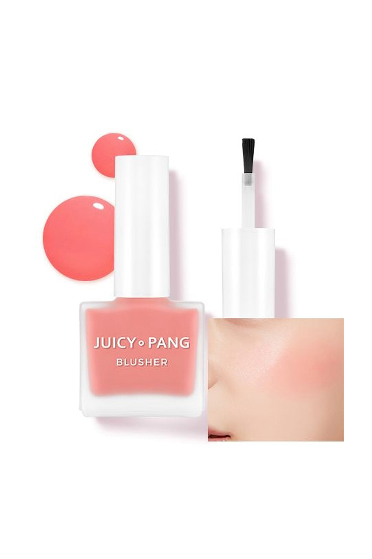 Missha Doğal Görünüm Sunan Nemlendirici Likit Allık 9g. APIEU Juicy-Pang Water Blusher (PK04) 0
