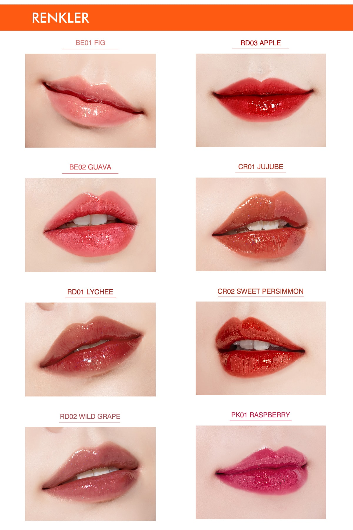 Missha Işıltı&Dolgunluk Veren  Parlak Gloss Tint APIEU Juicy-Pang Sparkling Tint CR01 2