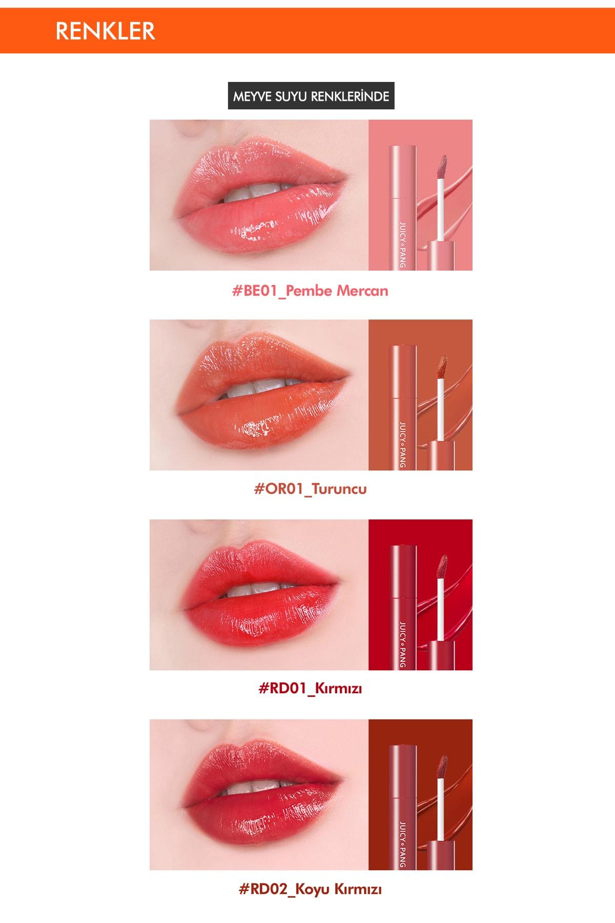 Missha Uzun Süre Kalıcı Parlak Su Bazlı Jel Tint APIEU Juicy-Pang Sugar Tint (PK01) 3